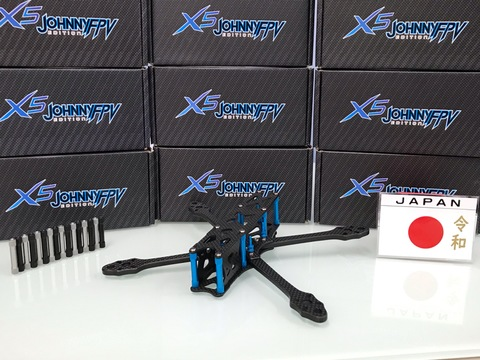 astroX X5 JOHNNY FPV 令和 V1 RACE