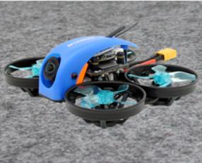 SPC Maker Mini Whale 78mm Micro F4 FPV Racing Drone BLUE BLACK