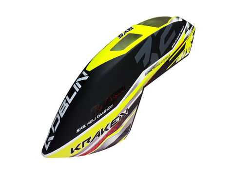 H1326-S  KRAKEN CANOPY YELLOW/BLACK