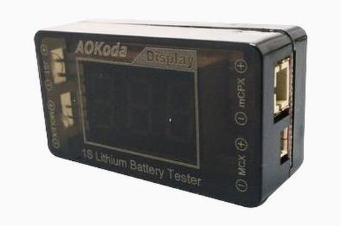 Aokoda AOK-041 1S Battery Checker/Tester