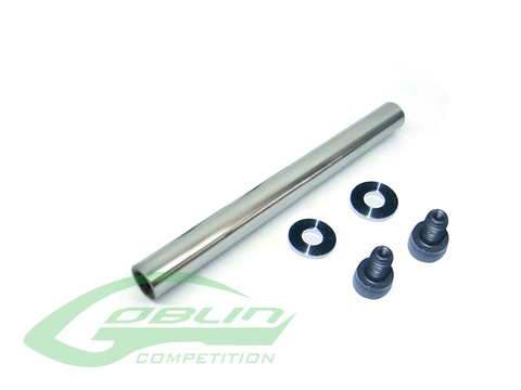 High Strength Steel Spindle Shaft - Goblin Urukay Carbon [H0481-S]
