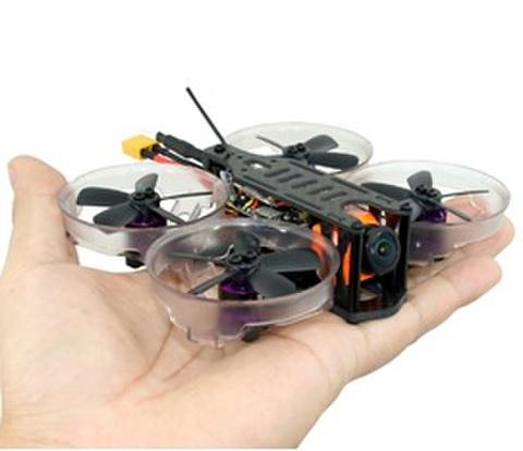 SPCMAKER K19 90MM Brushless FPV Racing Drone PNP BNF Version Omnibus F4 flight controller 20A Mini 4 in 1 BLheli_s ESC (2-4S LiPo) RunCam