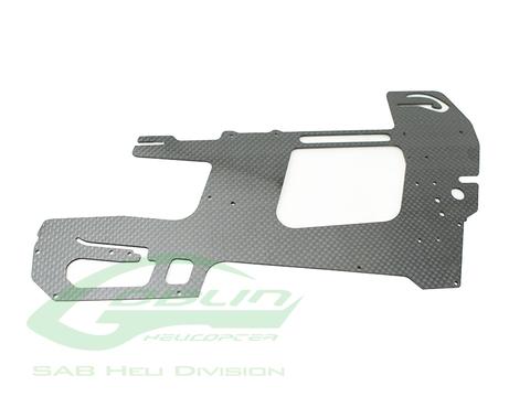 H0634-S - Carbon Fiber Main Frame - Goblin 500 Sport