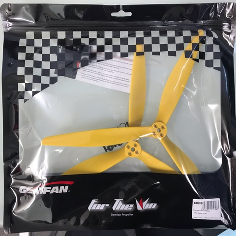 GEMFAN X-CLASS 13×10 1L/1R 1310 Yellow