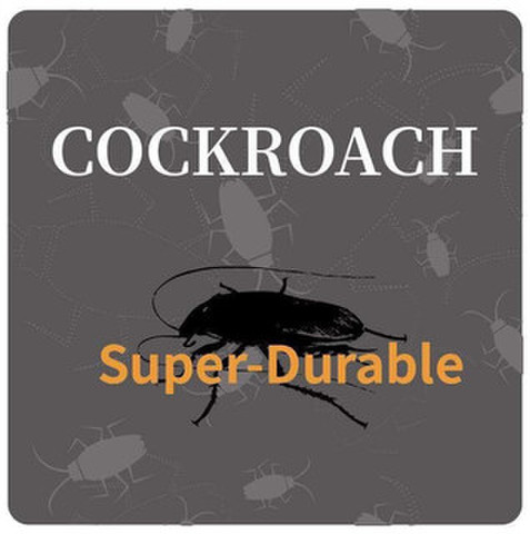 Colored Cockroach Super-Durable Frame CLEAR