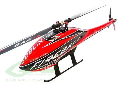 SG289 - GOBLIN FIREBALL CO (with Comp. motor, ESC and blades )