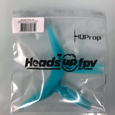 HQ HeadsUp Racing Prop R38 Blue [2CW+2CCW]
