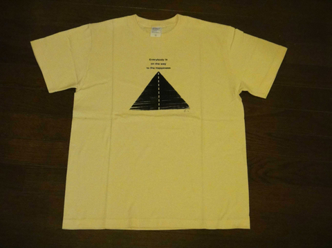 Tシャツ (Everybody is on the way to the Happiness)
