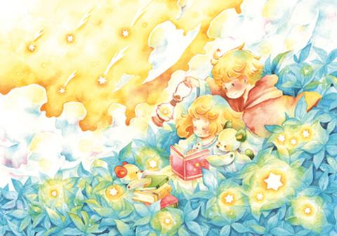 ポストカード【星降る青】