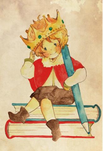 ポストカード【ぼくは王様】