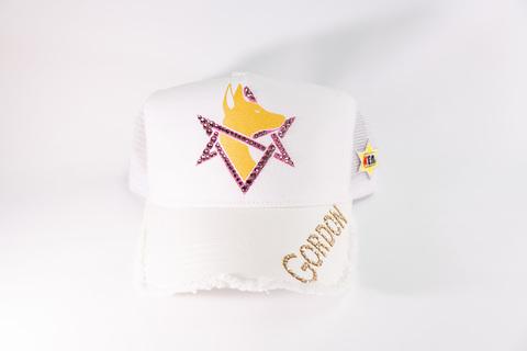 GORDON キャップ White