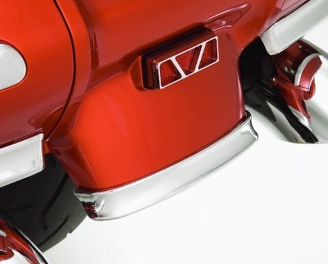 52-695 CHROME ABS REAR FENDER TRIM FOR GL1800