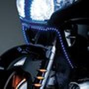 5047 LEDミニ ストリップライト青(左右ペア)