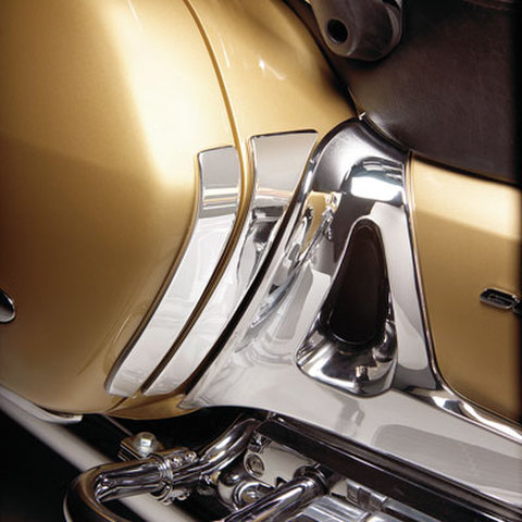 52-761 CHROME STEEL SADDLEBAG