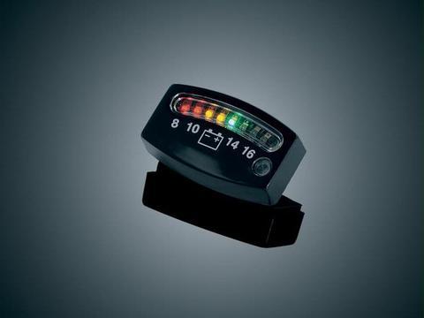 4218 LEDバッテリーゲージ ブラック