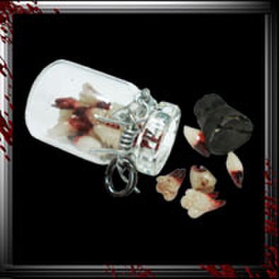 JC007/人体小瓶/ 歯/抜きたて