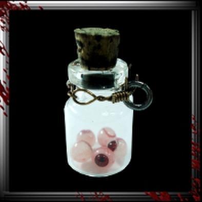 JC012/人体小瓶/ 眼球5ヶ入り/レッドアイ