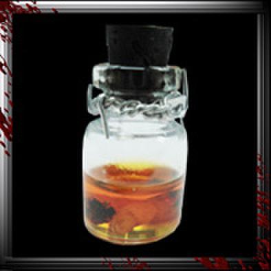 JC011/人体小瓶/ ホルマリン漬け指/オレンジ