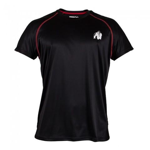 パフォーマンスTシャツ ブラック/レッド