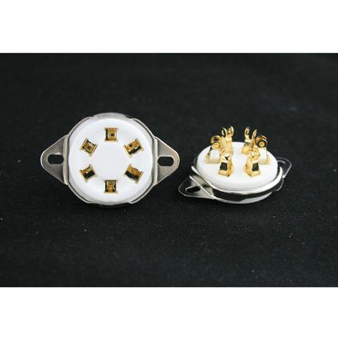 新品2個金メッキタイトソケット(UZ、円型)送料無料