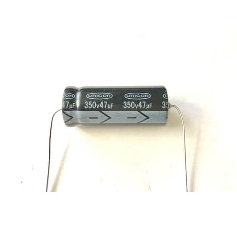 チューブラコンデンサー350V/47uF(unicon)