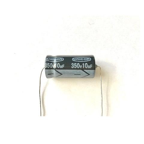 新品チューブラコンデンサー350V/10uF(UNICON)