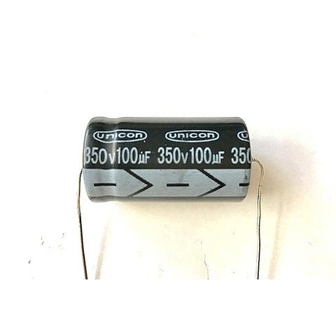 チューブラコンデンサー350V/100uF(unicon)