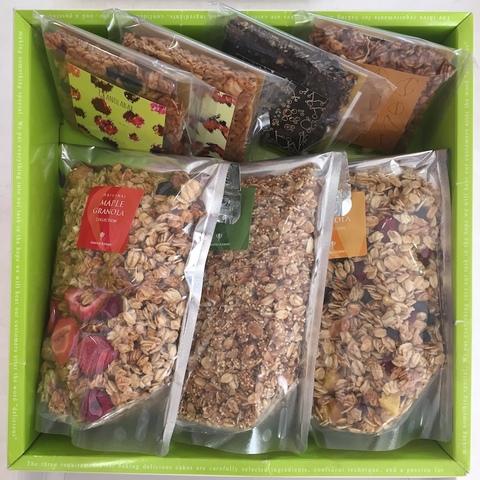 【ギフト・贈り物・送料無料】フルーツと雑穀のグラノーラとグラノーラバーギフトセット