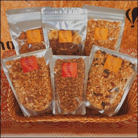 【ご自宅用・送料無料】グラノーラ食べ比べ6袋セット