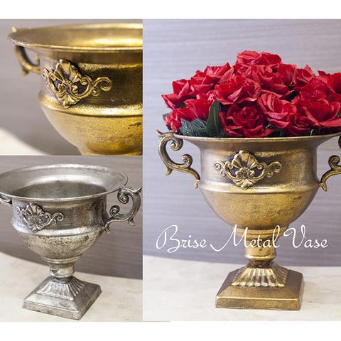 アンティーク家具 ブリーゼメタル ベース(3012)【Brise Metal Vase】【ランク1】新品・未使用
