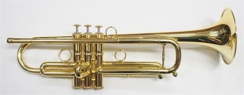 """【残り1本!】Queen Brass(クイーンブラス) Guarnerius(ガルネリウス)トランペット""""プロトタイプ""""ラッカーモデル"""