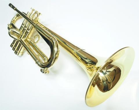 """Queen Brass(クイーンブラス)Bbトランペット 日野皓正""""Hino""""モデル・ヘビーウェイトモデル・ラッカー仕上げ"""