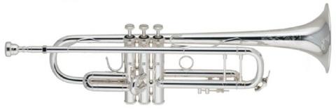 【限定新モデル!】V.Bach(バック) ストラディバリウス エルクハート50周年記念モデル トランペット・銀メッキ