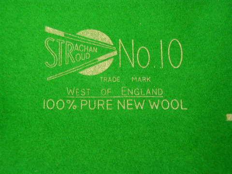 ストラカン ウェストオブイングランド No.10 スヌーカークロス