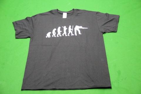 エヴォリューション・Tシャツ (スヌーカー・ビリヤード)