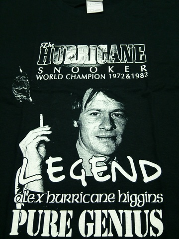 アレックスヒギンズ Tシャツ