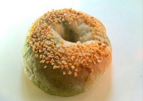 限定お抹茶マーブル×ミルキークリームチーズ ベーグル