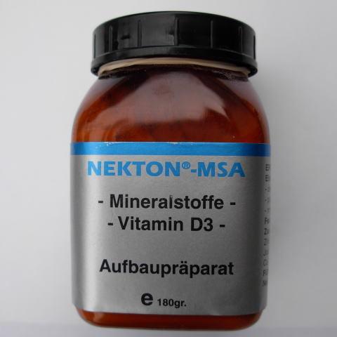 栄養剤 MSA180g〔ネクトン〕