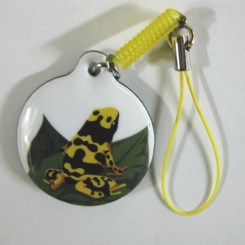 携帯クリーナー 【キオビヤドクガエル】
