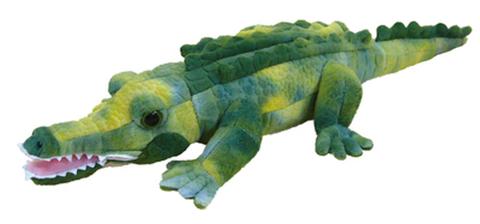 クロコダイル(緑) 17インチ ぬいぐるみ