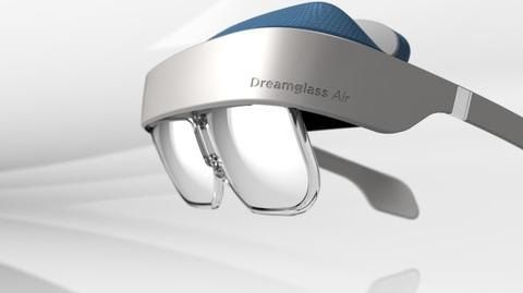 ARヘッドセット「DreamGlass Air」