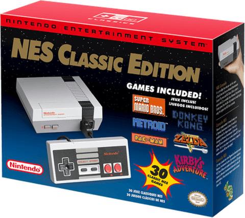 アメリカ任天堂製家庭用ゲーム機「NESクラシック・エディション」