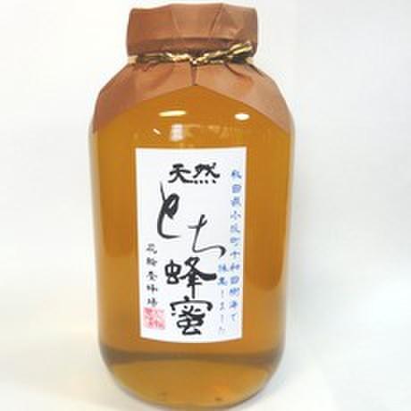 天然国産とち蜂蜜2400g