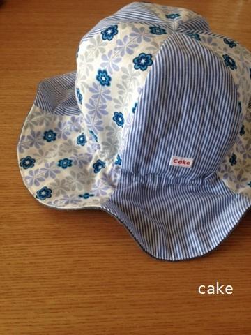 定番人気商品フラワーハットパターン48~52㎝縫い代つき