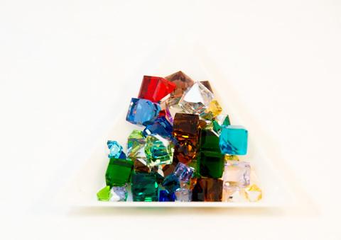 ガラスキューブ(ミックス)