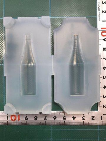 60「一升瓶」レジン用モールド