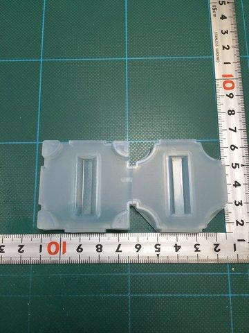 10「六角柱」レジン用モールド