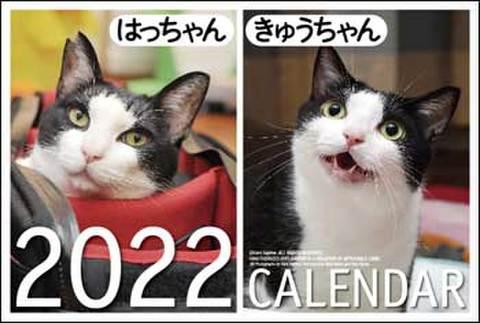 2022年卓上カレンダー