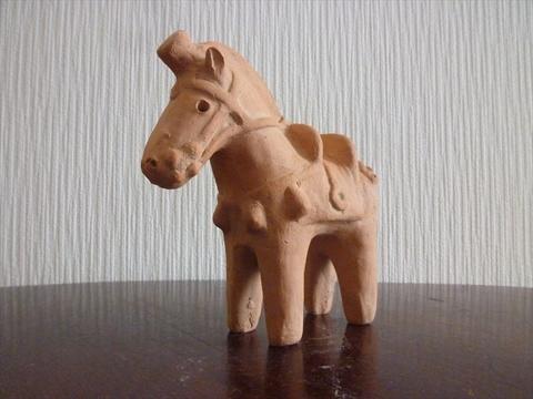 馬はにわ埴輪小2