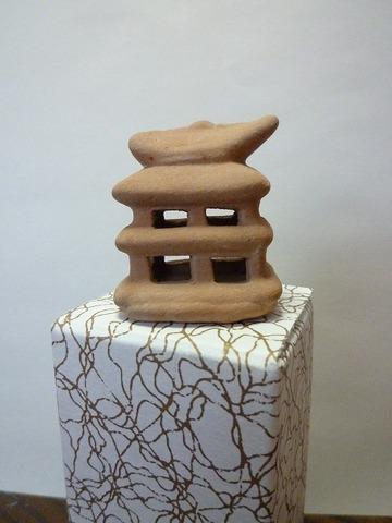 豆埴輪 家